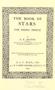 Cover of: The book of stars for young people
