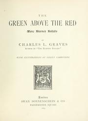 Cover of: The green above the red