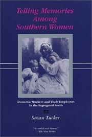 Cover of: Telling Memories Among Southern Women