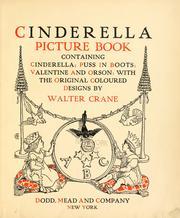 Cinderella picture book