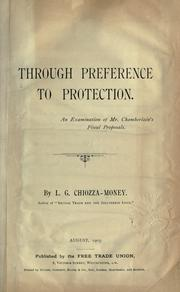 Cover of: Through preference to protection