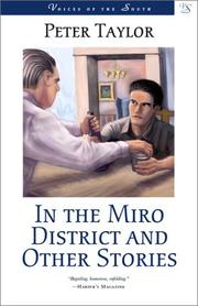 Cover of: In the Miro District and other stories