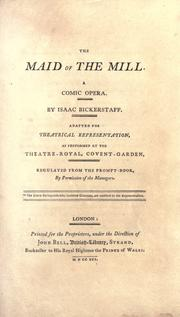 Cover of: Maid of the mill