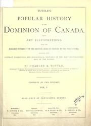 Cover of: Popular history of the Dominion of Canada