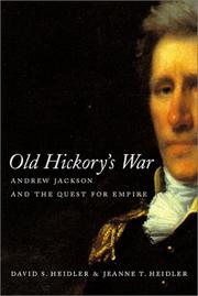 Cover of: Old Hickory's war