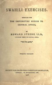 Cover of: Swahili exercises