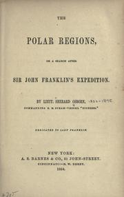 Cover of: The Polar regions