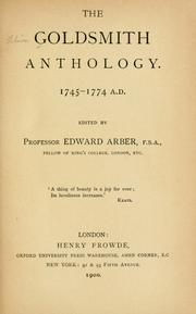 Cover of: The Goldsmith anthology