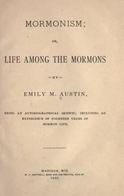 Cover of: Mormonism, or, Life among the Mormons