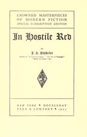 Cover of: In Hostile Red