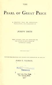 The pearl of great price by Joseph Smith, Jr.
