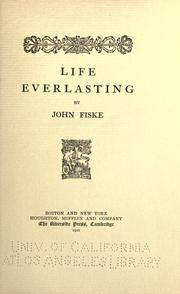 Cover of: Life everlasting