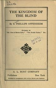 Cover of: The kingdom of the blind