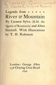 Cover of: Legends from river & mountain