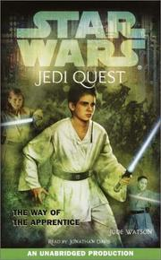Cover of: Star Wars: Jedi Quest #1: The Way of the Apprentice