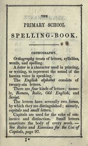 Cover of: The primary school spelling book