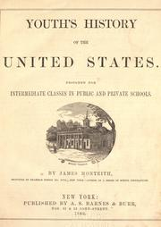 Cover of: Youth's history of the United Sates | James Monteith