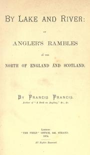 Cover of: By lake and river | Francis, Francis
