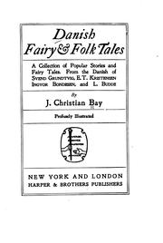 Cover of: Danish folk tales by J. Christian Bay