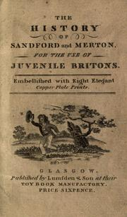 Cover of: The history of Sandford and Merton by Thomas Day