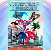 Cover of: Justice League #5: Red Justice (Justice League, 5)
