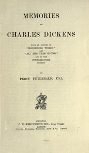 Memories of Charles Dickens by Percy Fitzgerald