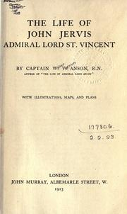 Cover of: The life of John Jervis Admiral Lord St. Vincent