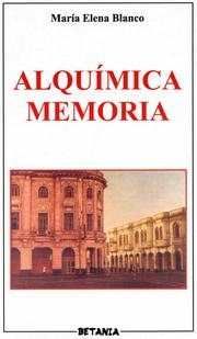 Cover of: Alquímica memoria