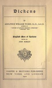 Dickens by Ward, Adolphus William Sir