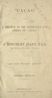 Cover of: Cacao