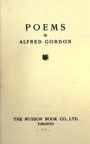 Cover of: Poems by