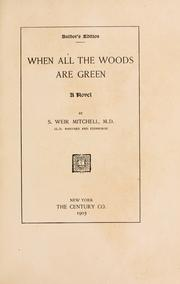 Cover of: When all the woods are green