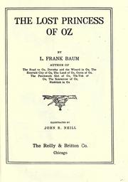 Cover of: The  Lost Princess of OZ by L. Frank Baum