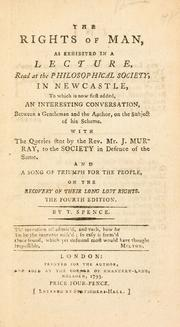 Cover of: The rights of man