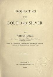Cover of: Prospecting for gold and silver