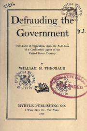 Cover of: Defrauding the government