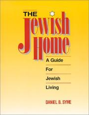 Cover of: The Jewish home