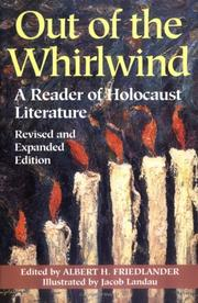 Out of the whirlwind by Albert H. Friedlander