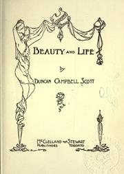 Cover of: Beauty and life