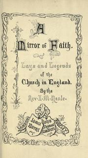 Cover of: A mirror of faith