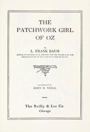Cover of: The  patchwork girl of Oz by L. Frank Baum