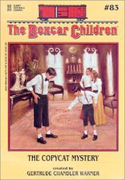 Cover of: The copycat mystery