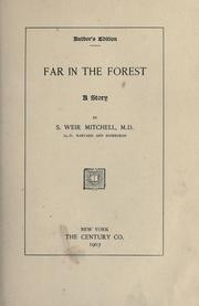 Cover of: Far in the forest