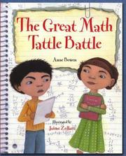 Cover of: The great math tattle battle | Anne Bowen