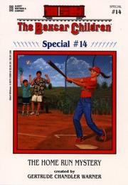 Cover of: The home run mystery