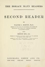 Cover of: Second reader