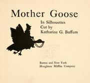 Mother Goose in silhouettes