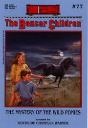 Cover of: The mystery of the wild ponies