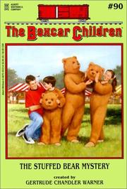 Cover of: The Stuffed Bear Mystery