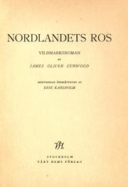 Cover of: Nordlandets ros